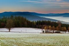 Zima se vkrádá na Šumavu